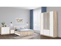 Спальня Вайт дуб сонома/белый