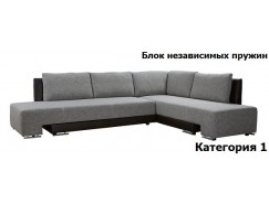 Диван угловой Премьер с ящиком 1500 БНП (I)