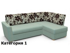 Диван угловой Виктория 3-1 comfort с ящиком 1500 мм (I)