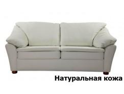 Диван Скарлетт (седафлекс) 1600 мм (кожа)