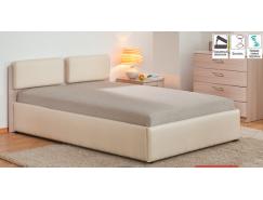 Кровать с подъемным механизмом Мелиса Люкс 1400 мм шимо светлый