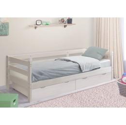 Кровать детская массив Норка с ящиками