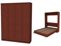 Кровать подъемная 1600 мм (вертикальная) К04 итальянский орех