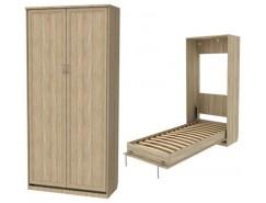 Кровать подъемная 900 мм (вертикальная) К02 дуб сонома