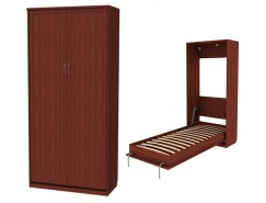 Кровать подъемная 900 мм (вертикальная) К02 итальянский орех