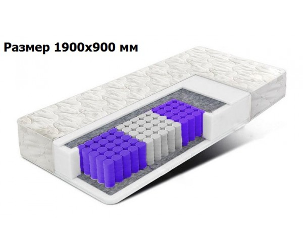 Матрас Comfort зонально-независимые пружины 190*90