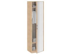 Шкаф для одежды с зеркалом Лофт 19.015Z дуб золотистый