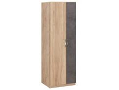 Шкаф Лофт 19.10 дуб золотистый/бетон