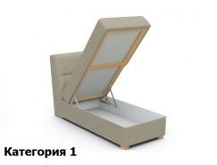 Кушетка к угловому дивану Виктория с ящиком 750 мм (I)