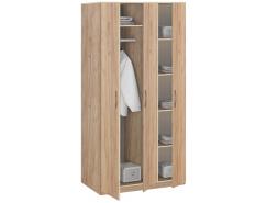 Шкаф для одежды Лофт 19.030 дуб золотистый