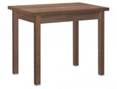 Стол обеденный раскладной прямая нога 600*900 орех/орех