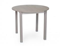 Стол раздвижной круглая крышка 900 мм шимо светлый