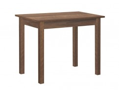 Стол обеденный прямая нога 600*900 орех/орех