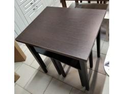 Стол обеденный раскладной Компакт венге