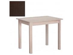 Стол обеденный прямая нога 600*900 венге/венге