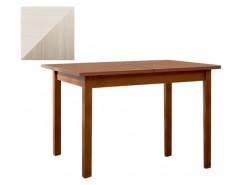 Стол обеденный раздвижной Классик (механизм синхр. раздв.) 750*1100/1400 шимо светлый/выбеленная береза