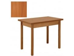 Стол обеденный раскладной прямая нога 600*900 вишня/вишня