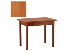 Стол обеденный раскладной прямая нога с ящ. 600*900 вишня/вишня