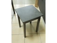 Табурет прямая нога бетон/бетон