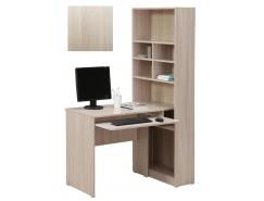 Стол компьютерный со стеллажом 10.04 шимо светлый