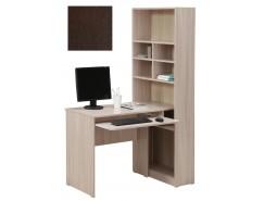 Стол компьютерный со стеллажом 10.04 венге