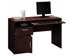Стол компьютерный с тумбой 10.01 венге