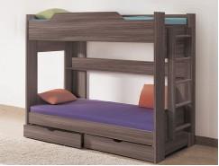 Двухъярусная кровать 900*1900 шимо темный