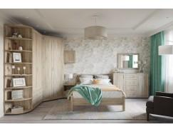 Спальня №3К  дуб сонома