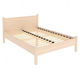 Кровать с ортопедическим основанием 614 дуб молочный