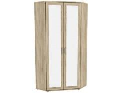 Шкаф угловой с зеркалом Гарун-К 533.02 сонома дуб