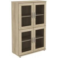 Шкаф для книг 302.04 дуб сонома
