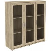 Шкаф для книг 303.02 дуб сонома
