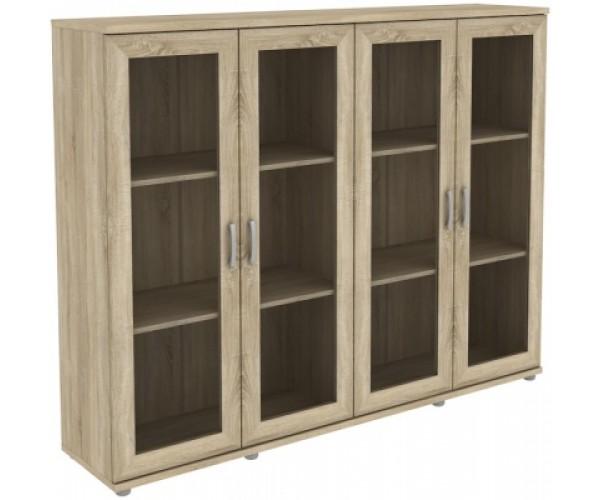 Шкаф для книг 304.02 дуб сонома