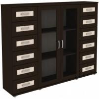 Шкаф для книг 304.10 венге