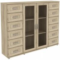 Шкаф для книг 304.10 дуб сонома