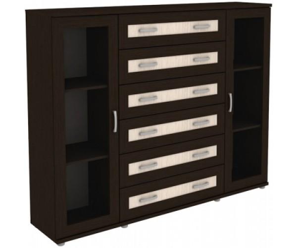 Шкаф для книг 304.12 венге