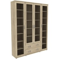 Шкаф для книг 504.04 дуб сонома