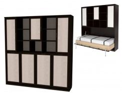 Кровать подъемная 900 мм (горизонтальная) К03 венге