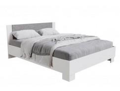 Кровать Nova 1,4 м  с настилом ЛДСП белый бетон