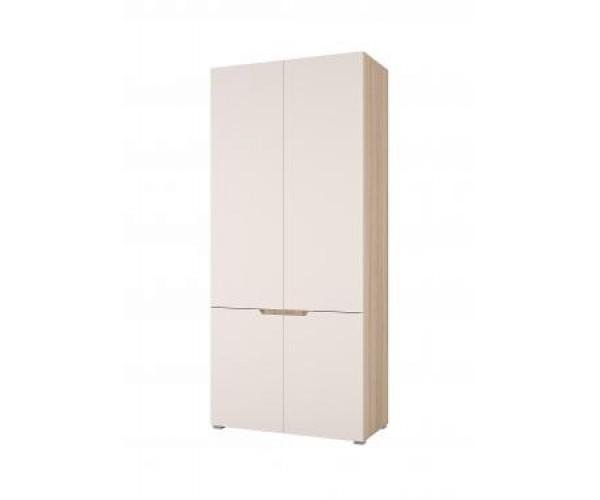 Шкаф 2х ств. сонома/белый софт