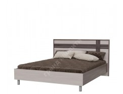 Кровать Презент 1,6 бодега светлый/ бодега тёмный
