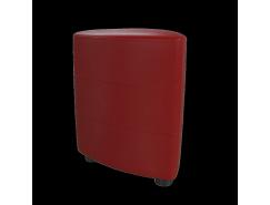 Банкетка Норд красный