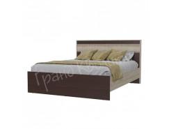 Кровать Румба 1,6 венге/ дуб сонома