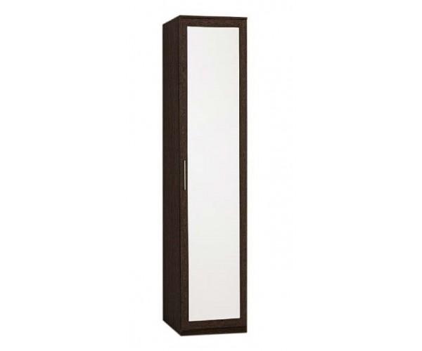 Пенал с зеркалом Кэт-4 венге Linum/Caiman коричневый