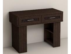 Туалетный столик КЭТ-4  венге Linum/ Caiman коричневый