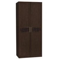Шкаф 2-ств. Кэт-4 венге Linum/Caiman коричневый