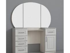 Туалетный стол КЭТ-6 Кантри сандал белый/бодега белая