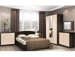 МН для спальни Кэт-7 вариант 2 Венге Linum/Дуб Белфорт