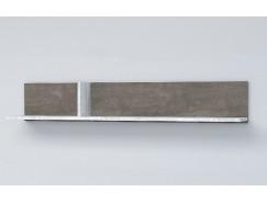 Полка ПЛ-2 камень тёмный/ бетон светлый