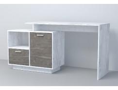 Письменный стол  СТ-2 (ПД) бетон светлый/ камень темный